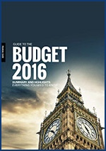 A Guide to the Budget, 2016